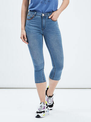 Jeans slim 78eme denim double stone femme