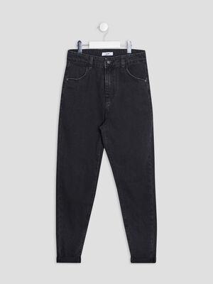 Jeans slim denim snow noir fille