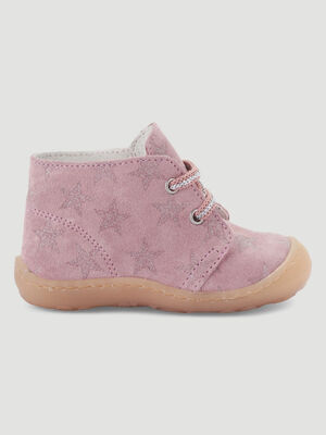 BOOTS BOTTINES rose bebe