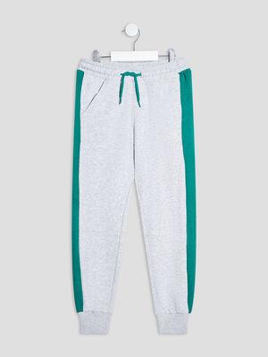 Pantalon jogging gris garcon