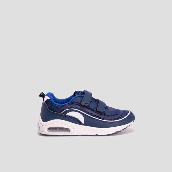 Baskets running Creeks garçon bleu