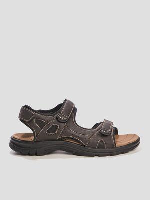 Sandales Trappeur marron homme