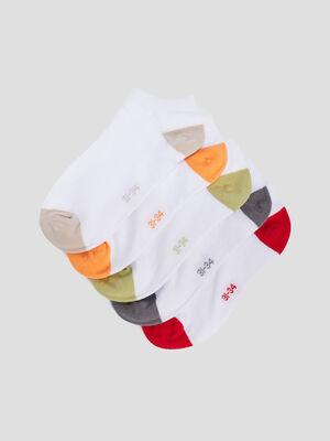 Chaussettes blanc garcon