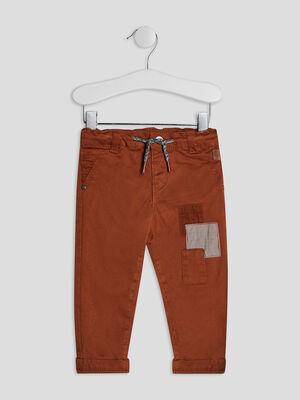 Pantalon droit camel bebeg