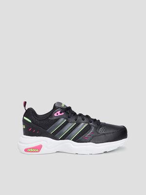 Baskets running Adidas noir femme