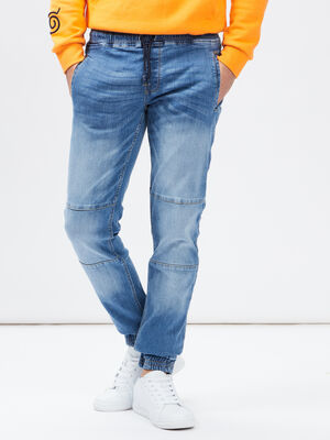 Jeans slim Creeks denim stone homme