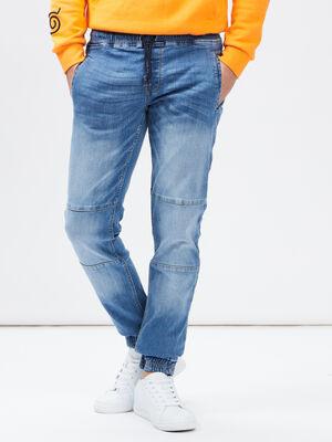 Jeans slim Creeks denim stone homme