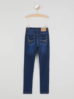 Jeans skinny Creeks denim double stone garcon