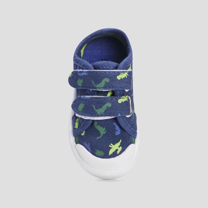 Baskets tennis bébé garçon bleu marine