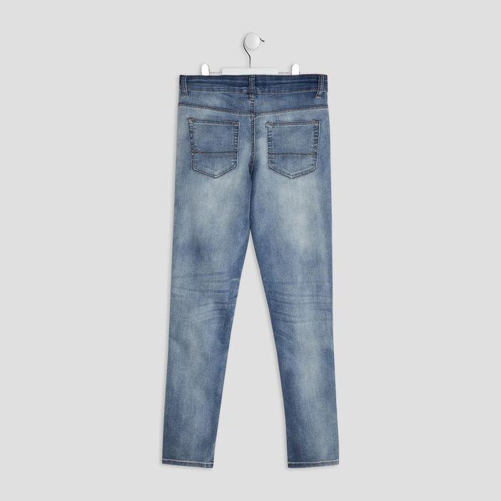 Jeans skinny garçon denim bleach