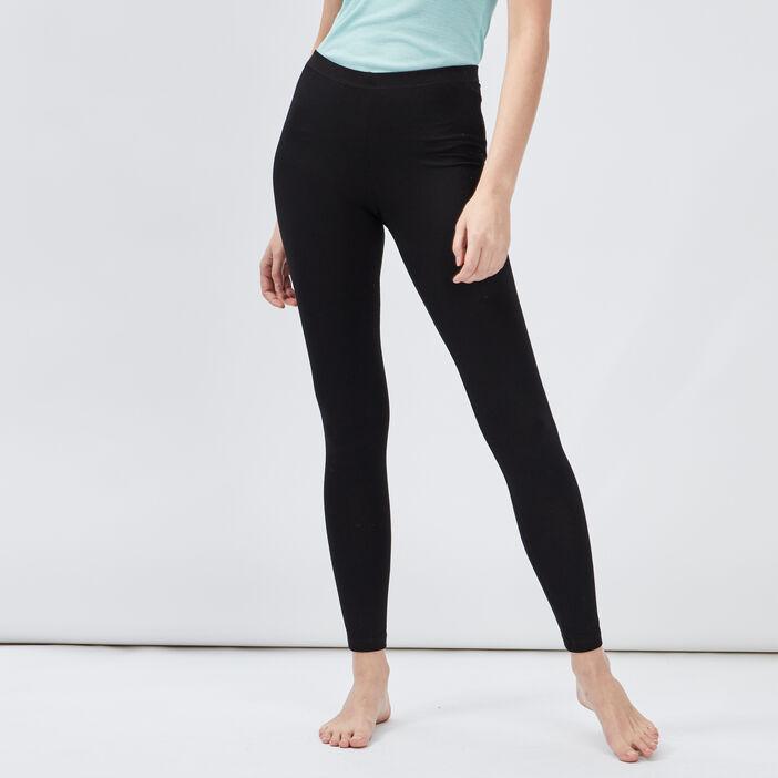 Legging taille standard femme noir
