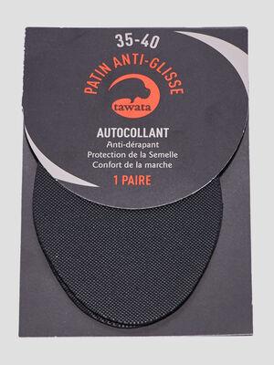 Patins anti glisse noir mixte