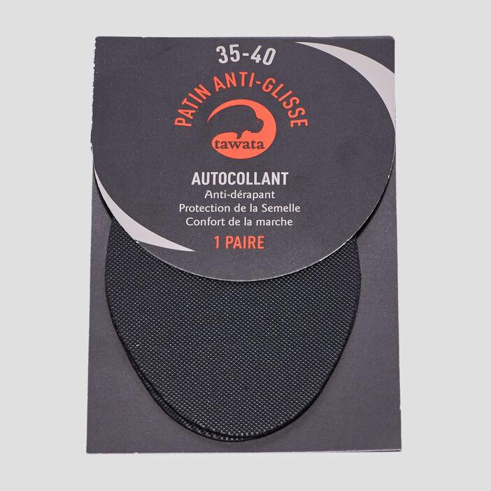 Patins anti-glisse mixte noir