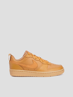 Baskets tennis Nike beige garcon