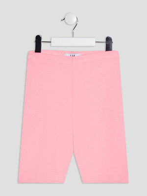 Leggings rose fluo fille