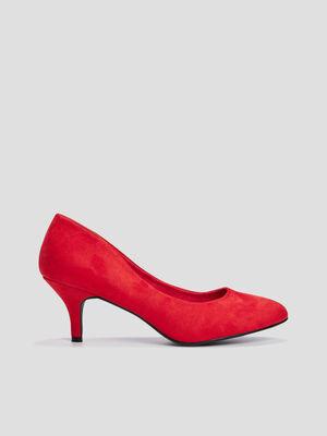 Escarpins a talons rouge femme