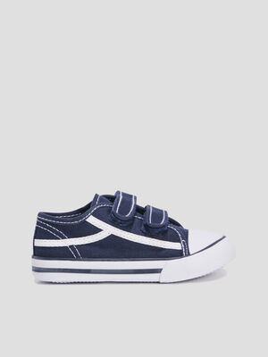 Baskets tennis bleu bebe
