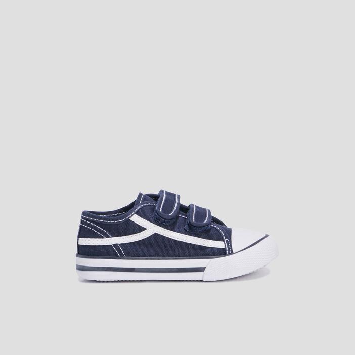 Baskets tennis bébé bleu