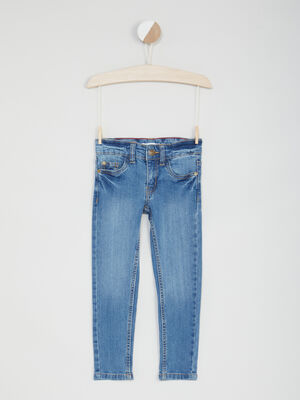 Jeans slim effet stretch denim double stone garcon