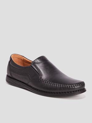 Chaussures emboitantes noir homme