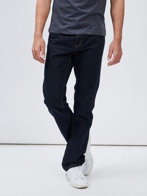Jeans regular denim blue black homme