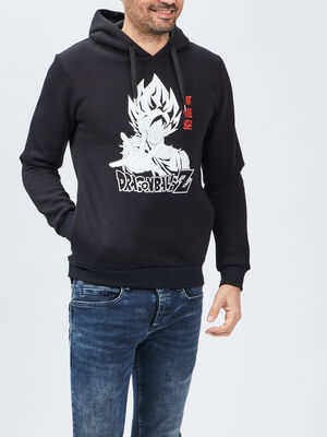 Sweat a capuche Dragon Ball Z noir homme