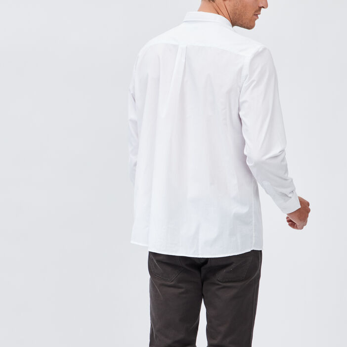 Chemise manches longues homme blanc