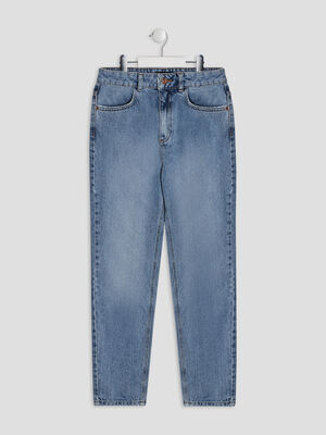 Jeans droit Liberto denim double stone fille