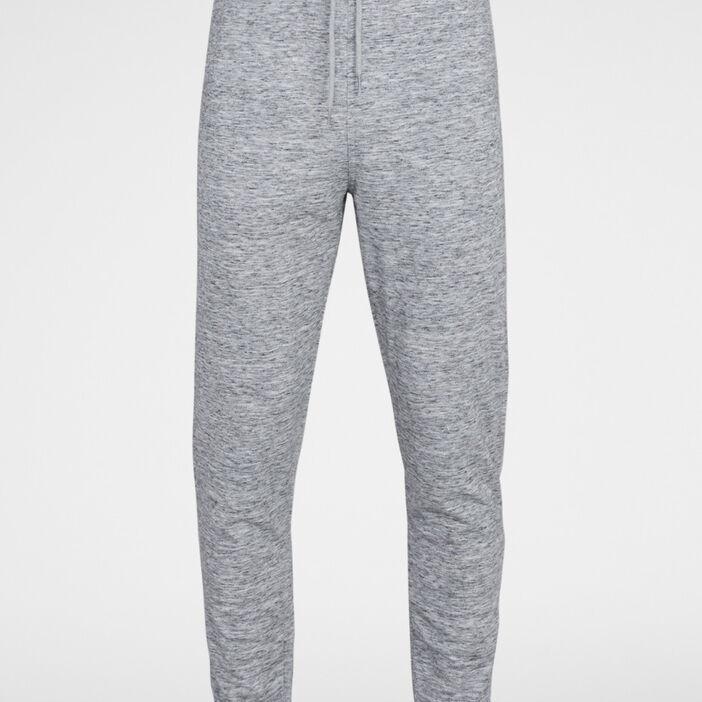 Jogging chiné coton mélangé homme gris