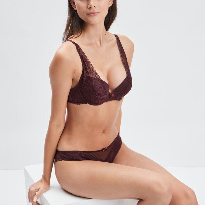 Soutien-gorge push-up femme violet