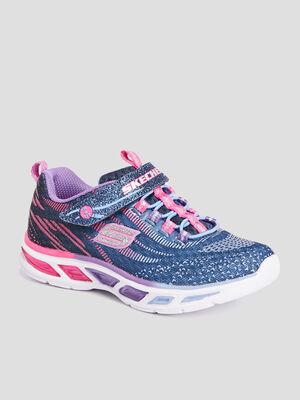 Runnings Skechers bleu fille