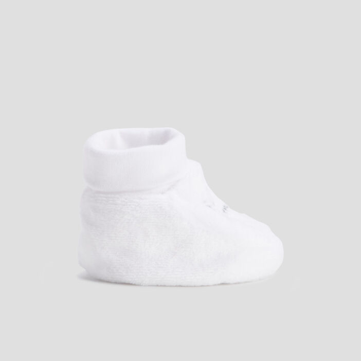 Chaussons bottines  blanc