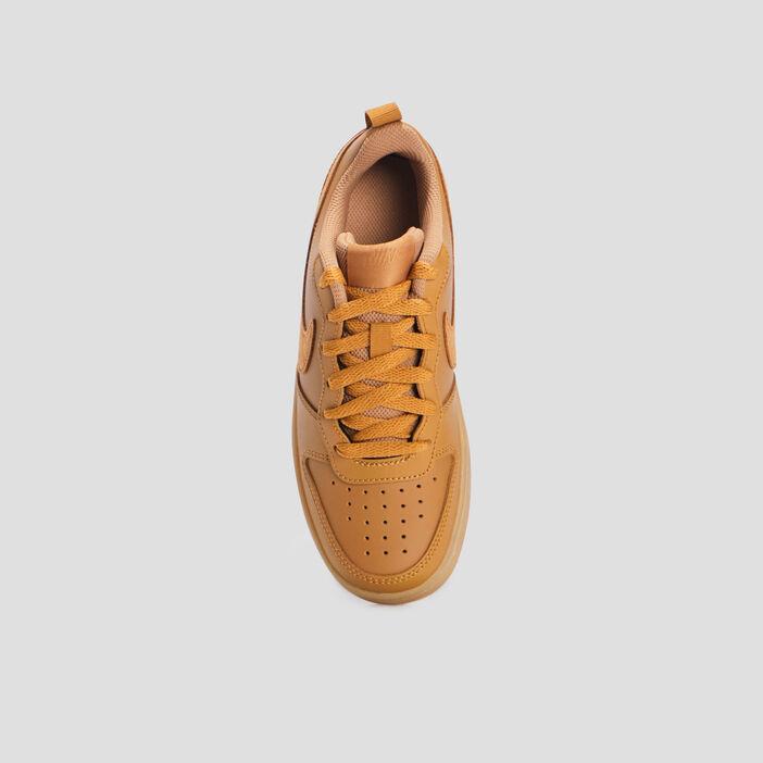 Baskets tennis Nike garçon beige