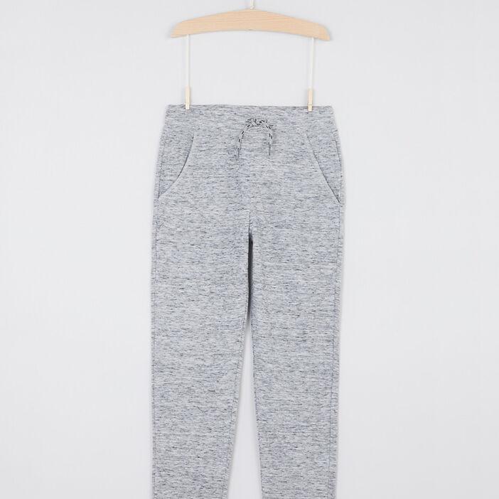 Pantalon de jogging uni garçon gris