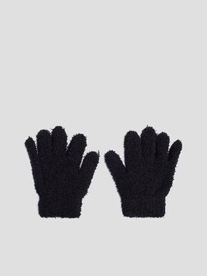 Gants noir fille