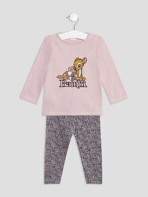 Ensemble pyjama 2 pieces multicolore bebef