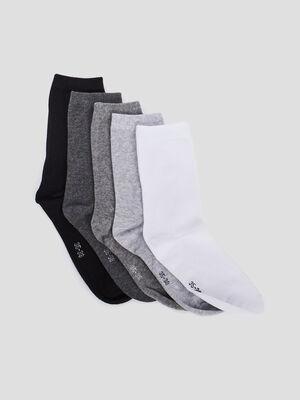 Chaussettes gris femme