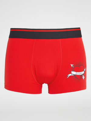 Boxer Calecon rouge homme