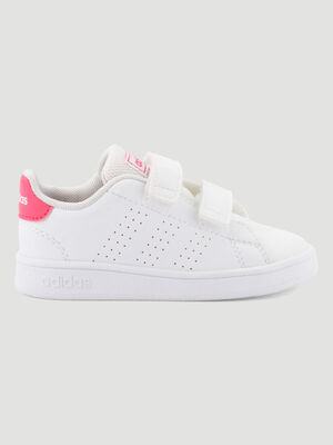 Tennis Adidas ADVANTAGE I blanc bebef