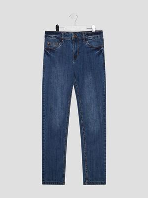 Jeans slim denim stone garcon