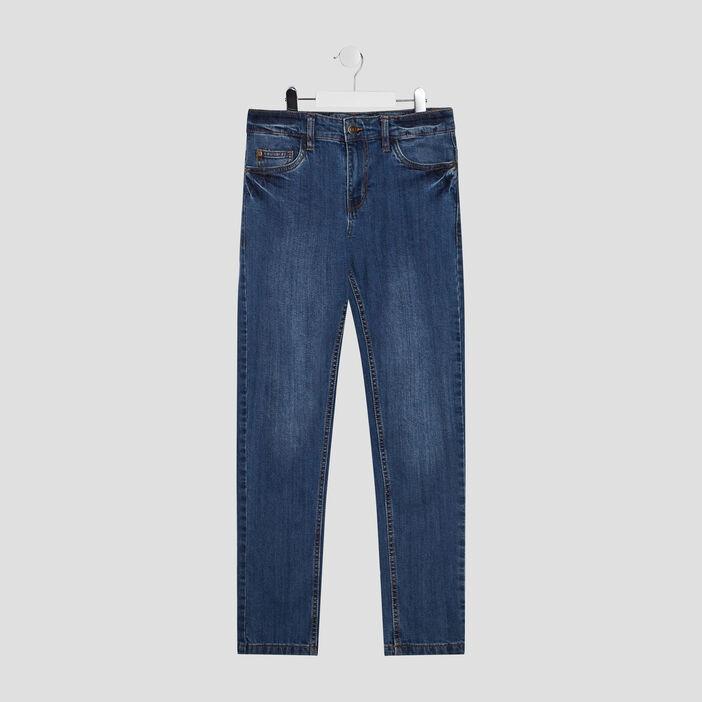 Jeans slim garçon denim stone