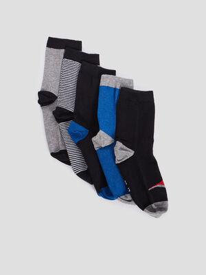 Chaussettes multicolore garcon