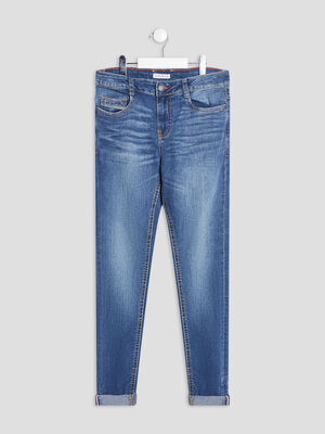 Jeans slim Creeks denim double stone garcon