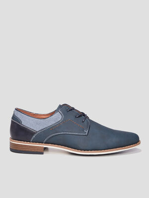 Derbies a lacets Creeks bleu homme