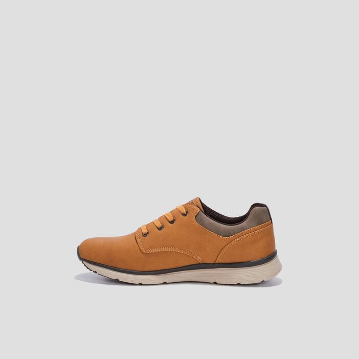Sneakers à lacets Creeks homme jaune