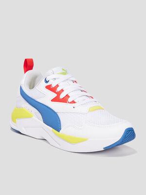 Runnings Puma blanc garcon