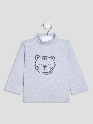 T shirt Pat et Ripaton gris bebeg