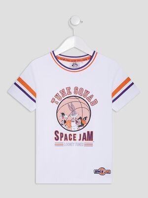 T shirt Looney Toons blanc garcon