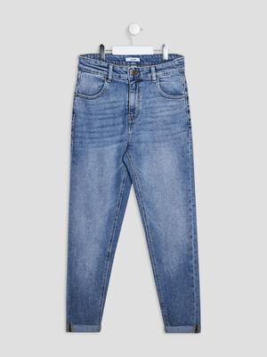 Jeans slim denim double stone fille