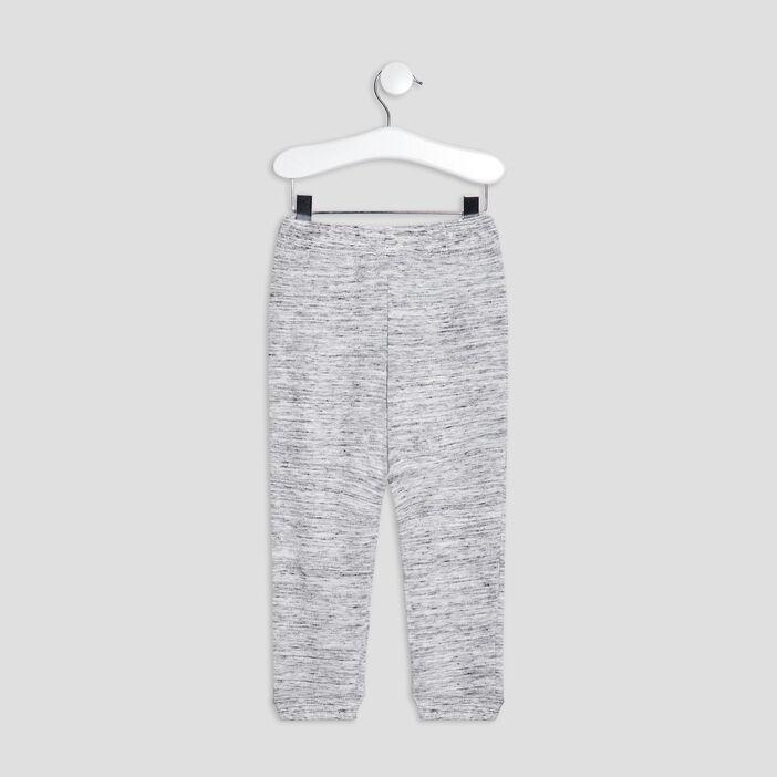 Jogging avec poches bébé garçon gris